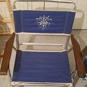 Other - (2) Vintage Beach Folding Chairs